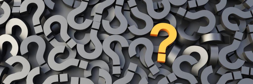 Assessment question mark